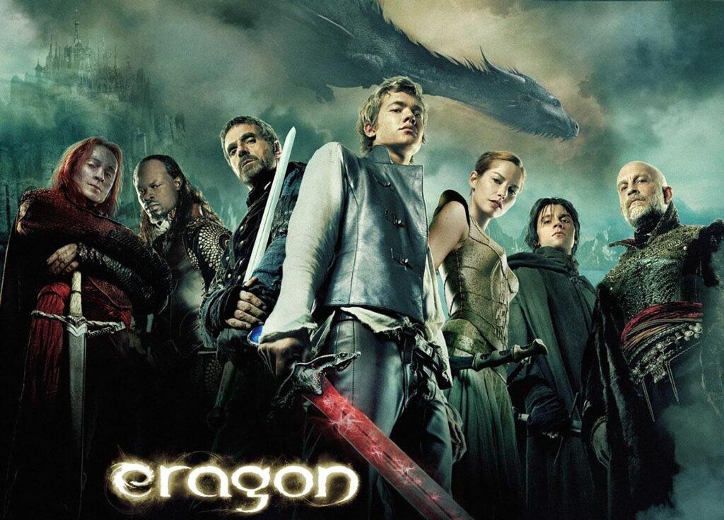 Un Poster del film Eragon