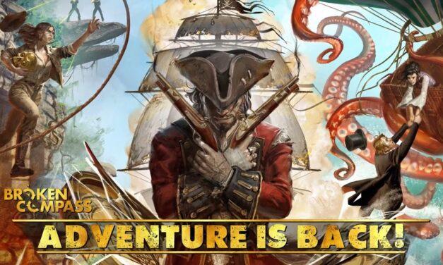 Broken Compass: Adventure is Back! è un successo su Kickstarter