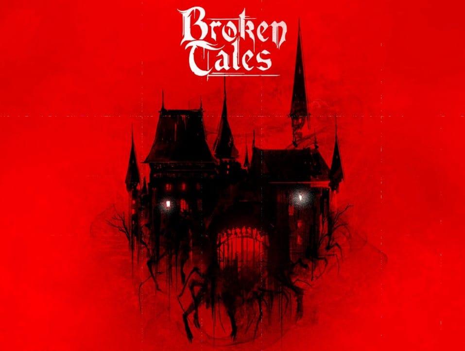 La copertina del quickstart di Broken Tales