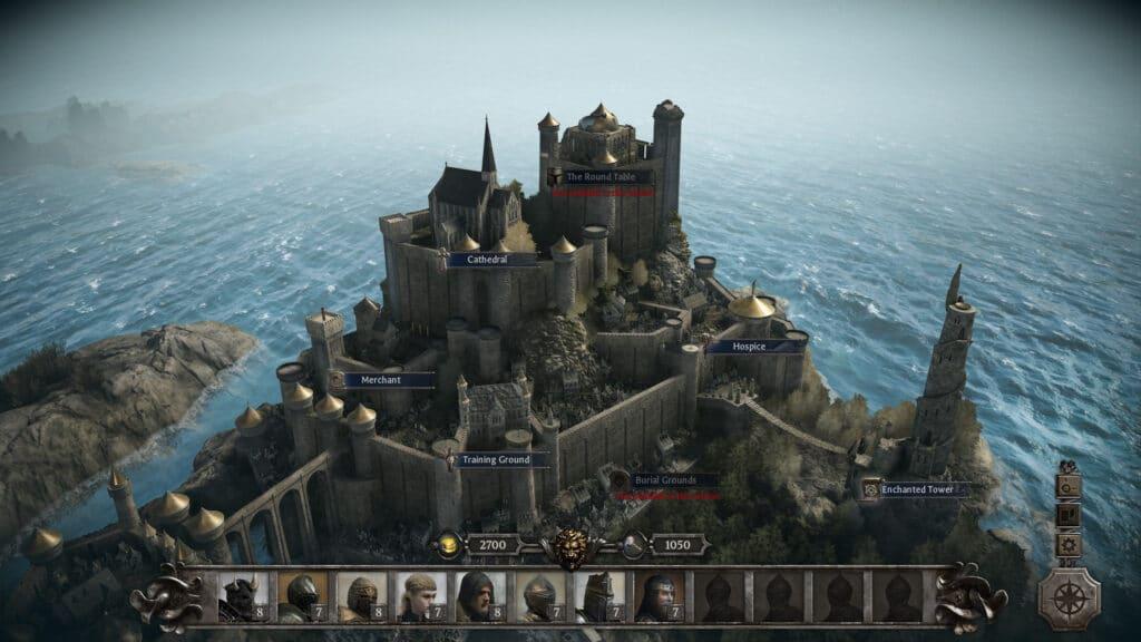 Camelot, in qualsiasi interpretazione dei Miti Arturiani ci si trovi, è il fulcro delle avventure dei Cavalieri della Tavola Rotonda
