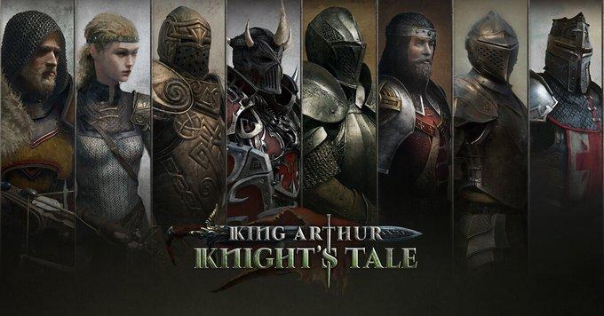 In King Arthur: Knight's Tale potremo reclutare diversi Eroi appartenenti alle leggende arturiane