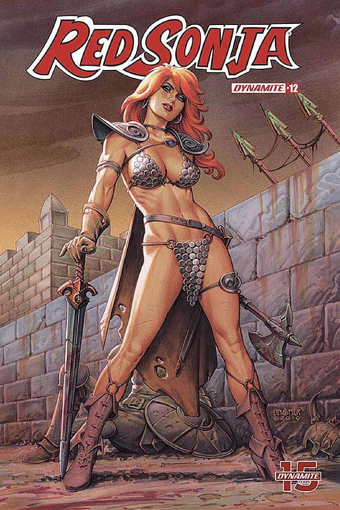 Rappresentazione fumettistica classica di Red Sonja