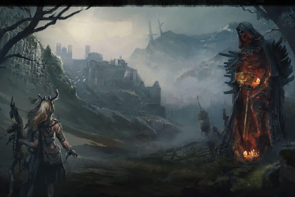 Nel mondo di Tainted Grail Avalon è costellata di statue che aiutano l'esplorazione