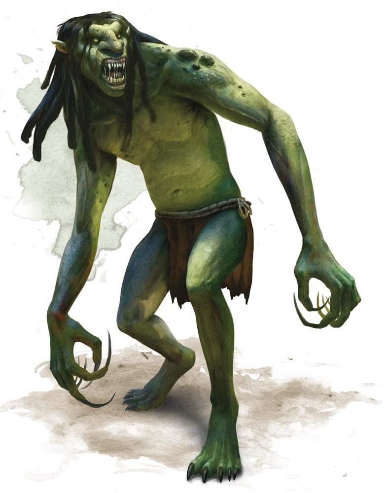 Il Troll di D&D 5e