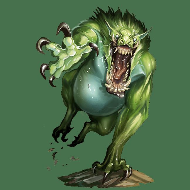 Il Troll della Seconda Edizione di Pathfinder