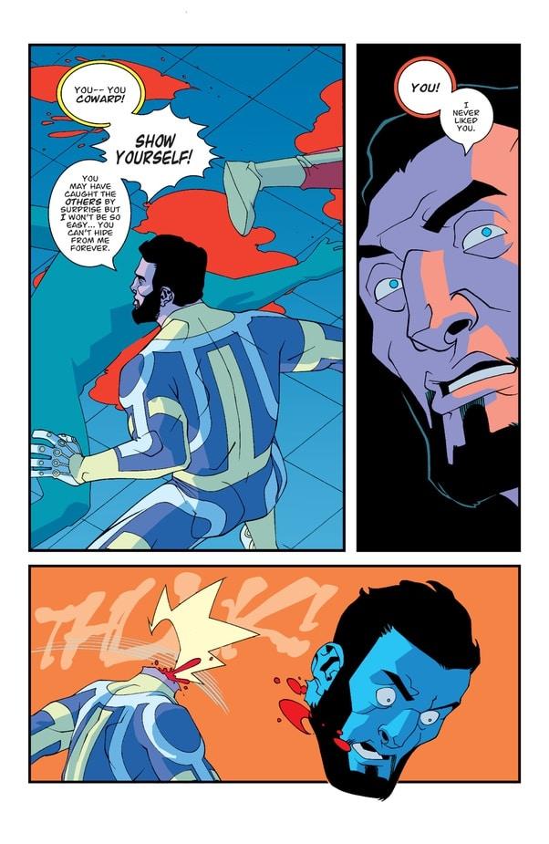 Il misterioso assalitore finisce The Immortal nel fumetto Invincible