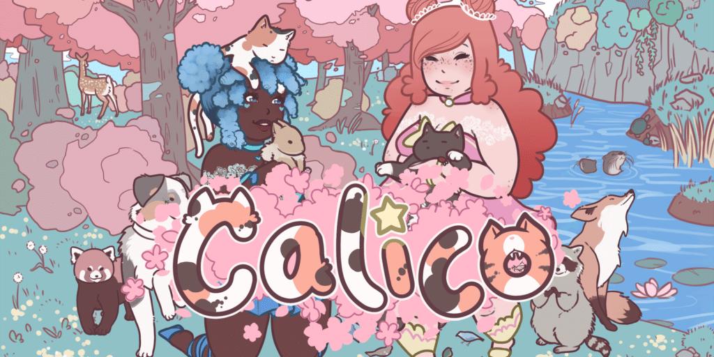 Copertina del videogioco Calico, compreso nel bundle per la Palestina