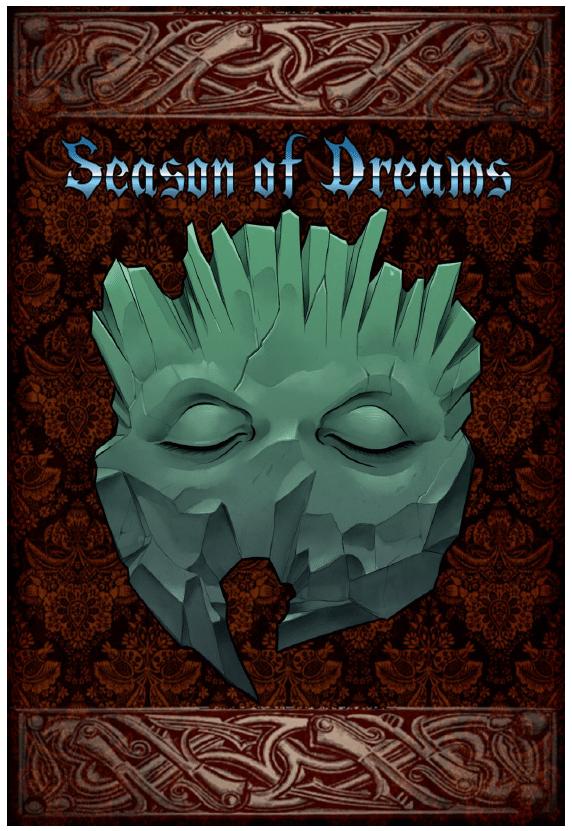 Copertina di Season of Dreams, gioco di ruolo compreso nel bundle per la Palestina