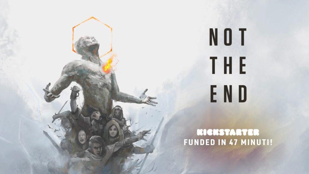Uno dei maggiori Kickstarter italiani del 2020: Not The End