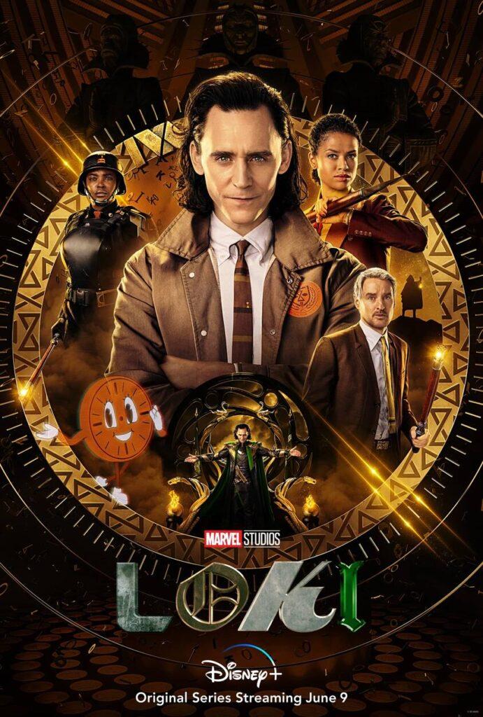 Poster promozionale della serie Loki
