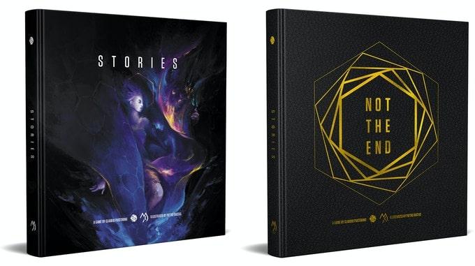 Stories, l'evoluzione di Echoes per Not The End in inglese, in versione normale e in versione deluxe