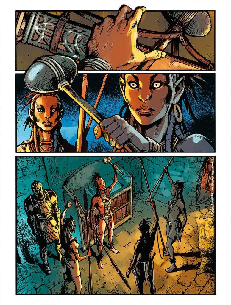 Il viaggio degli eroi inizia con l'ascia di Zagor che viene sottratta a Ian
