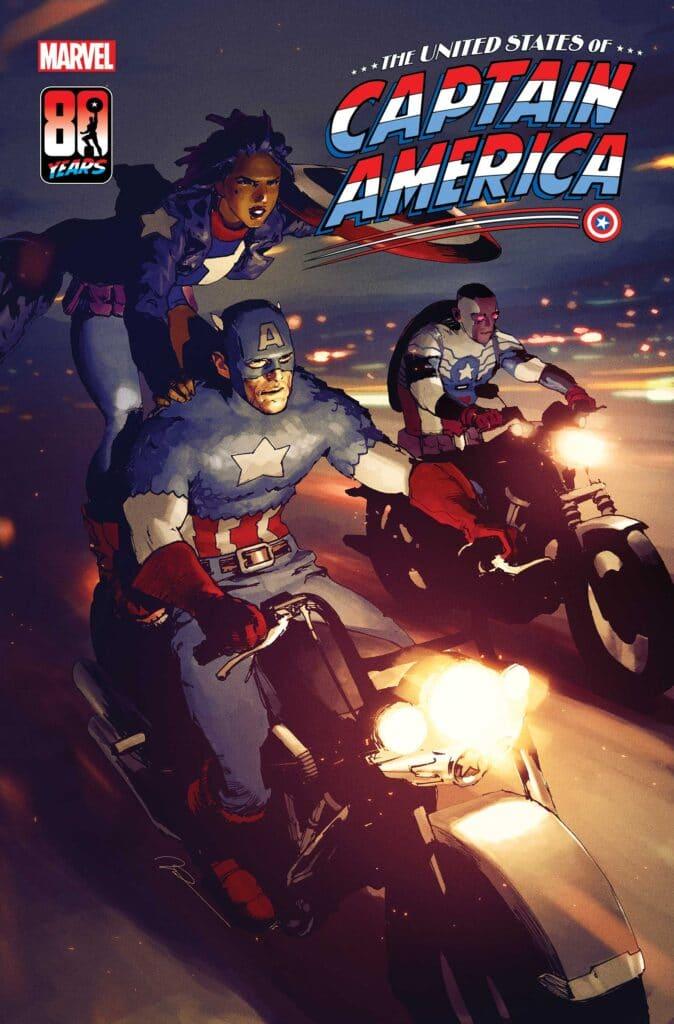 La copertina del secondo volume di United States of Captain America