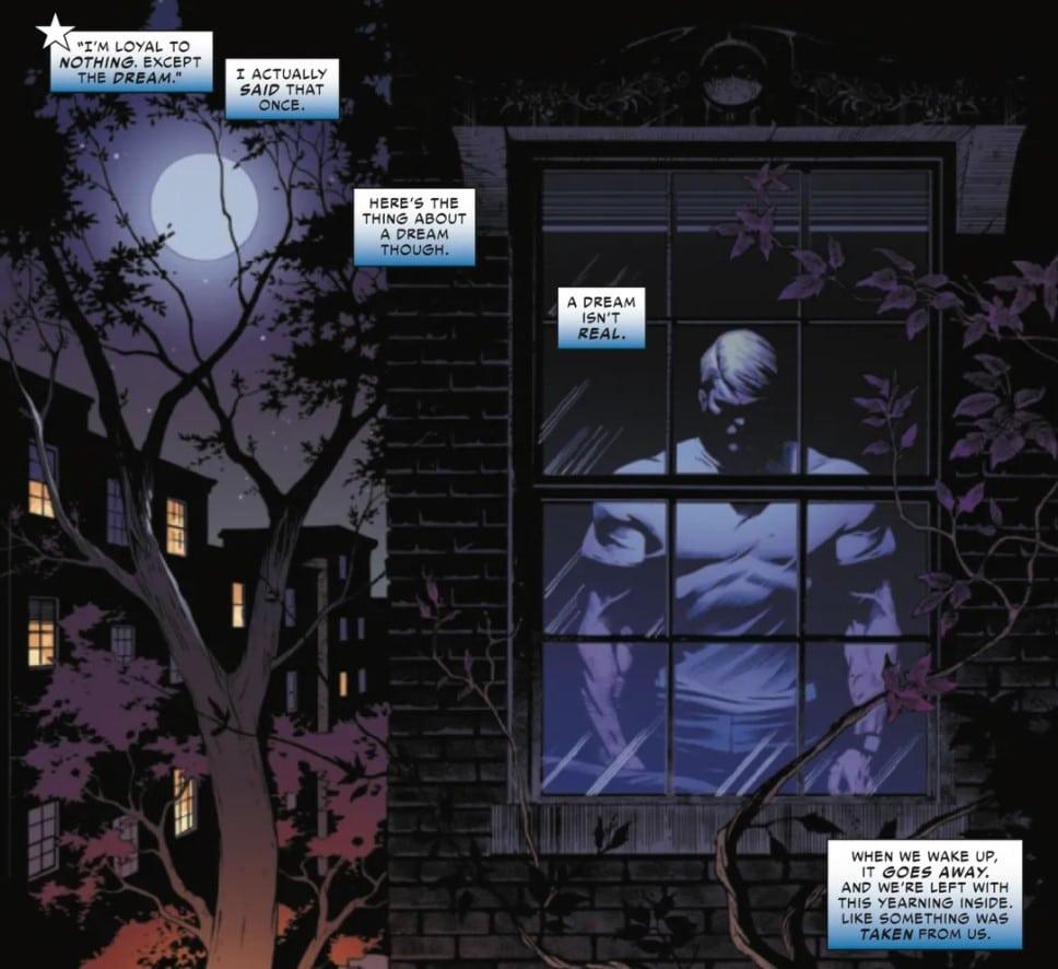 Il monologo iniziale di Steve Rogers in United States of Captain America
