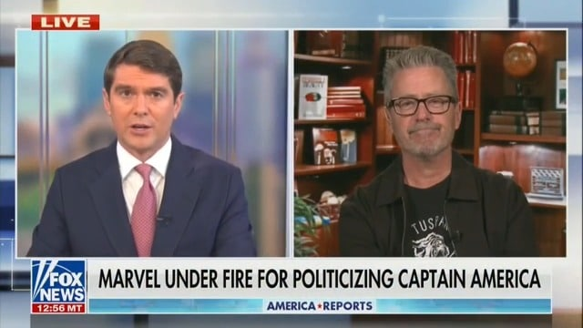 Michael Loftus a Fox News, su United States of Captain America