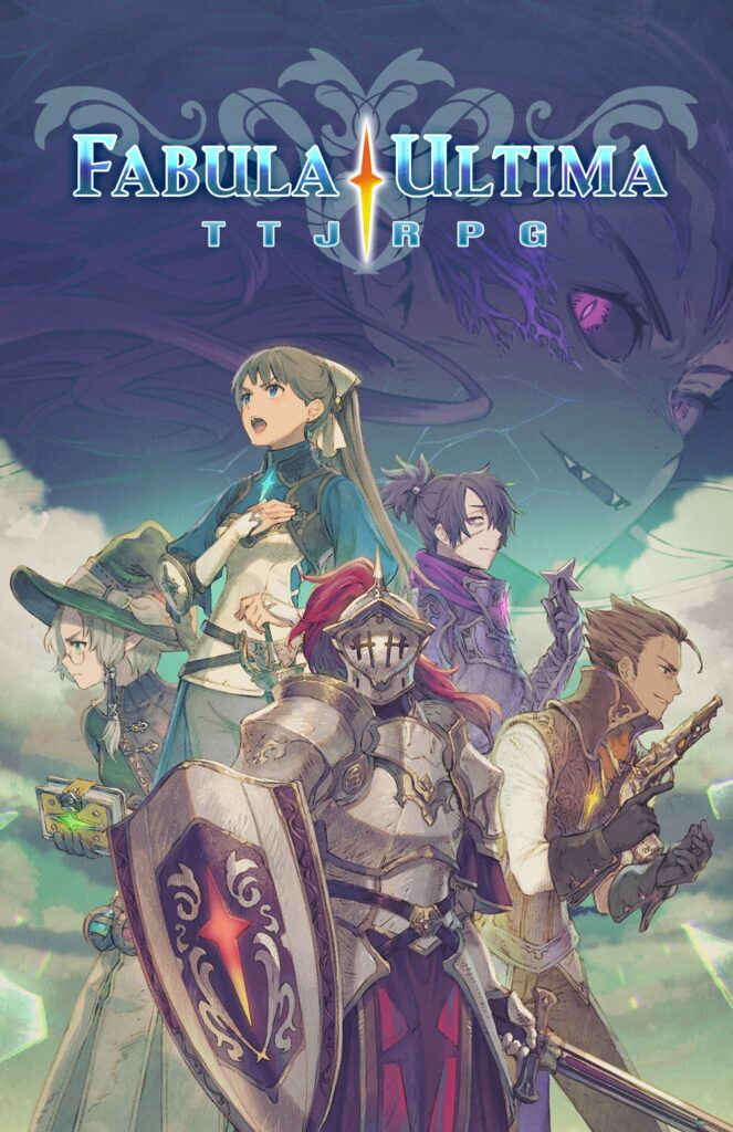 La copertina di Fabula Ultima
