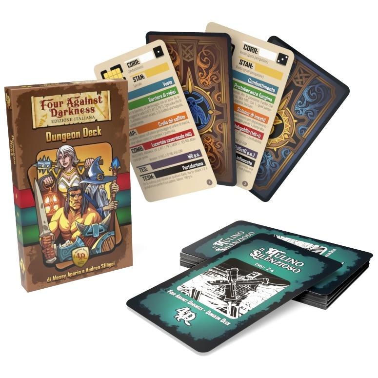 Four Against Darkness: Dungeon Deck