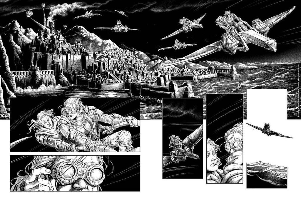 L'assalto degli Sparvieri è un numero al cardiopalma, il tentativo di liberare l'Imperatore Nahim porterà a diverse conseguenze...