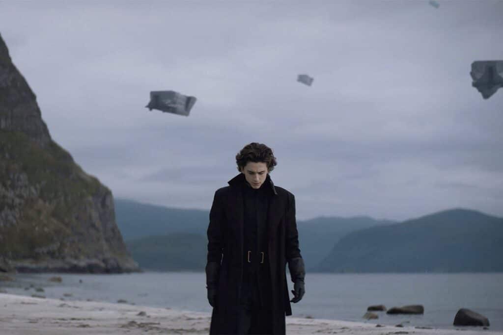 Dune (2021) Una scena con Timothée Chalamet