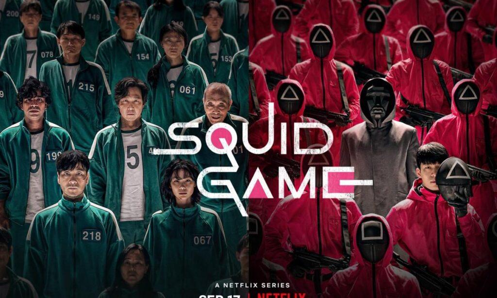 Squid Game Copertina